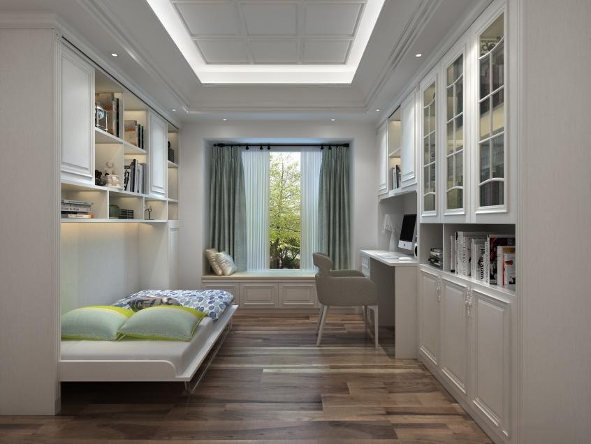 小卧室隐形床如何设计?释放卧室空间